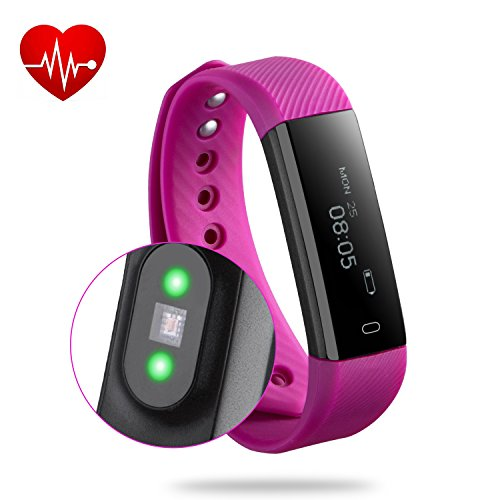 fitness tracker rixow bluetooth 4 0 fitness armband. Black Bedroom Furniture Sets. Home Design Ideas
