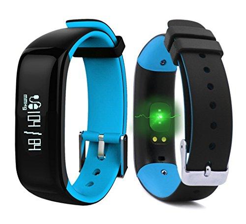 roguci oled fitness armband tracker uhr handgelenk smartband mit puls und blutdruck. Black Bedroom Furniture Sets. Home Design Ideas