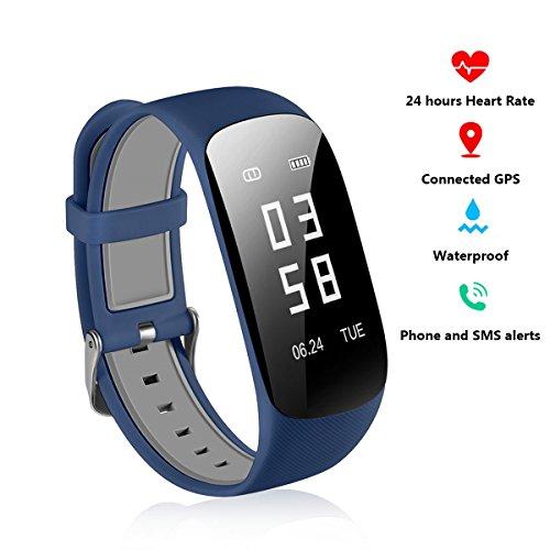 fitness armband mit herzfrequenz 24 stunden pulsuhr. Black Bedroom Furniture Sets. Home Design Ideas
