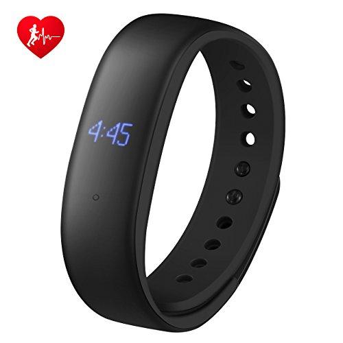 Mpow Fitness Tracker Mit Herzfrequenzmesser Ip67