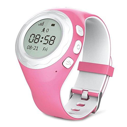 vidimensio gps telefon uhr kleiner pinguin pink wifi. Black Bedroom Furniture Sets. Home Design Ideas
