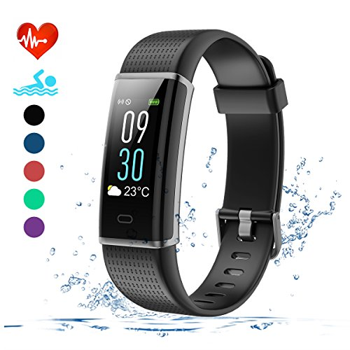 efo shm fitness tracker mit pulsmesser schrittz hler uhr. Black Bedroom Furniture Sets. Home Design Ideas