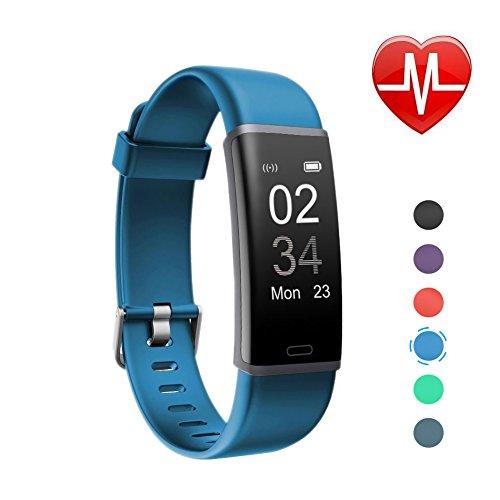 letsfit fitness tracker mit pulsmesser fitness armband. Black Bedroom Furniture Sets. Home Design Ideas