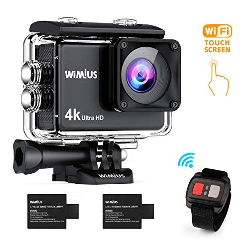 wimius ai8000 action cam 4k wasserdichte wifi hd 16mp. Black Bedroom Furniture Sets. Home Design Ideas
